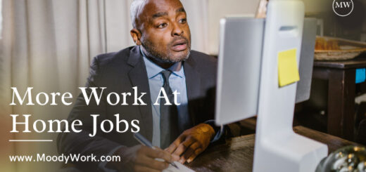 More Work At Home Jobs