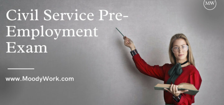 Civil Service Pre Employment Test