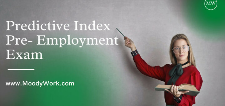 Predictive Index Pre Employment Exam