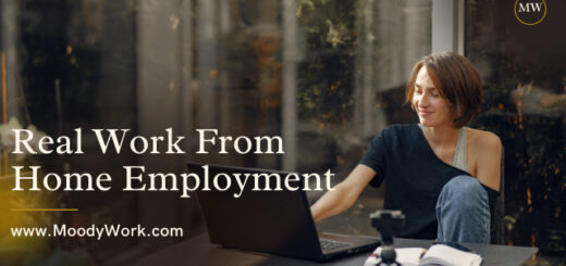 Real Work From Home Employment