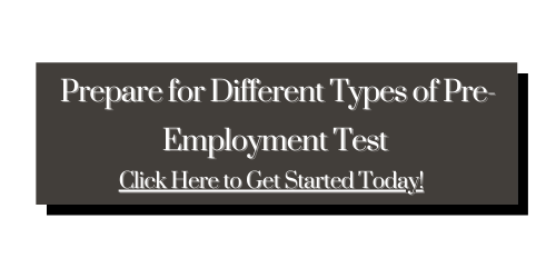 Different Type of Pre-Employment Test