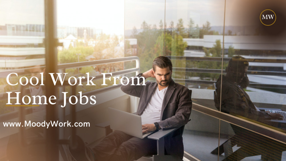 Cool Work From Home Jobs